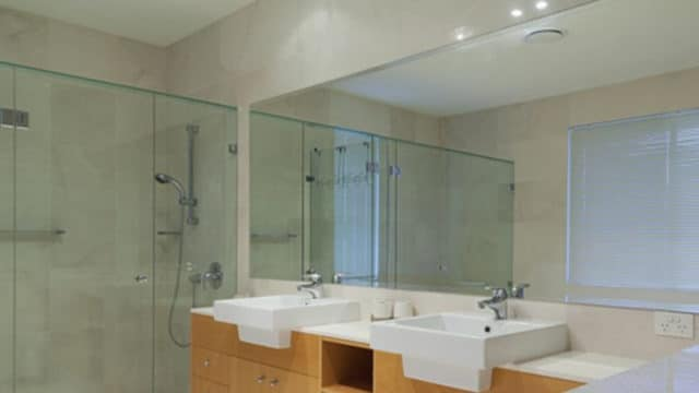We're Pittsburgh's mirror specialists, and we install mirrors in both commercial and residential bathrooms.