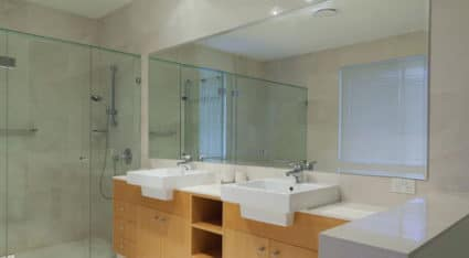 We install bathroom mirrors of all shapes and sizes in Pittsburgh homes. Just call us to get a free estimate.