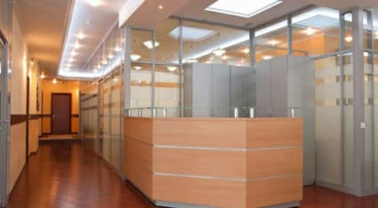 We work with business owners and building managers to complete interior glass door replacement and installation projects.