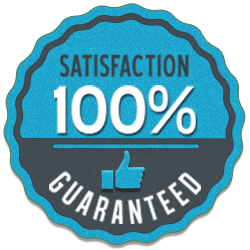 Our service comes backed by our 100% satisfaction guarantee, along with our lifetime guarantee.